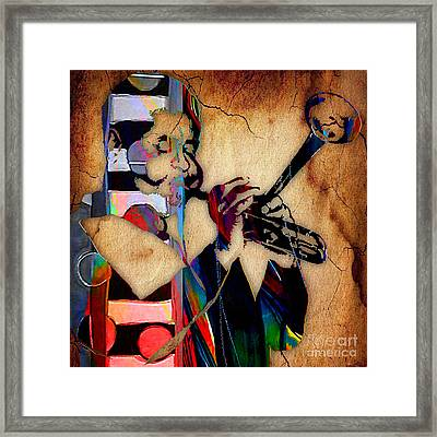 Dizzy Gillespie Collection Framed Print