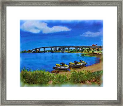 Do You Sea Doo Framed Print