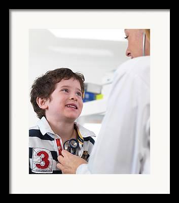 Medical Exam Framed Prints