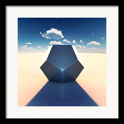 Dodecahedron Framed Prints