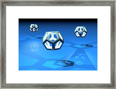 Dodecahedrons Framed Print