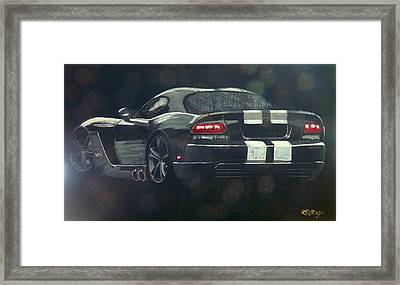Dodge Viper 2 Framed Print
