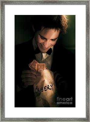 Dodgy Business Deal Framed Print by Jorgo Photography - Wall Art Gallery