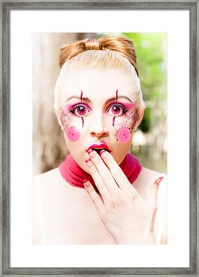 Doll Face Framed Print by Jorgo Photography - Wall Art Gallery