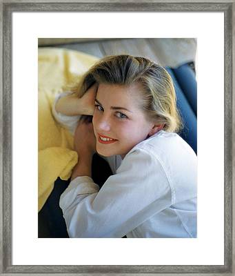 Dolores Hart Framed Print by Silver Screen