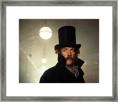 Donald Sutherland In The First Great Train Robbery  Framed Print by Silver Screen