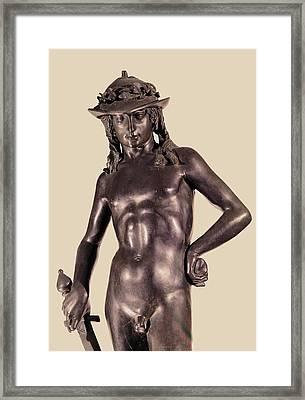 Donato Di Niccol Di Betto Bardi Known Framed Print by Everett