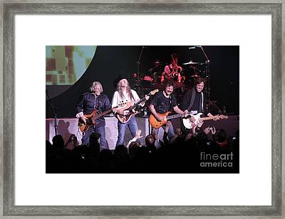 Doobie Brothers Framed Print by Concert Photos