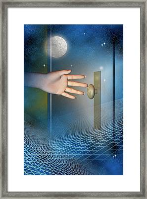 Doorway Framed Print by Carol & Mike Werner