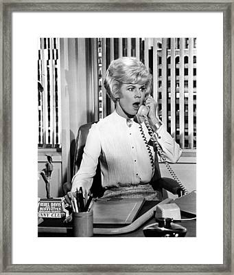 Doris Day In Lover Come Back  Framed Print by Silver Screen