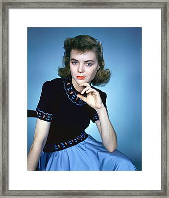 Dorothy Mcguire Framed Print by Silver Screen