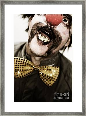 Dose Of Laughter Framed Print