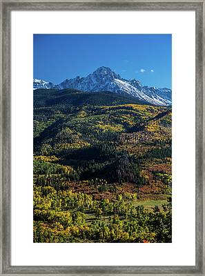 Double Rl Ranch Near Ridgway, Colorado Framed Print