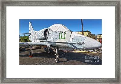 Douglas Skyhawk A-4f Framed Print by Gregory Dyer