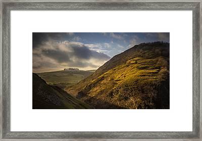 Dovedale Valley Framed Print