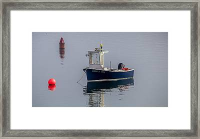 Framed Print featuring the photograph Down East Maine by Trace Kittrell