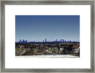Downtown Atlanta Framed Print by Jeffrey Ward