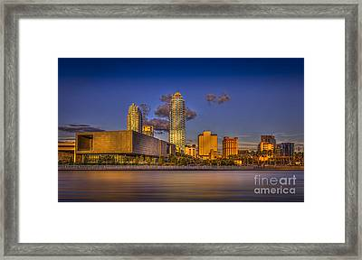 Downtown Tampa Framed Print