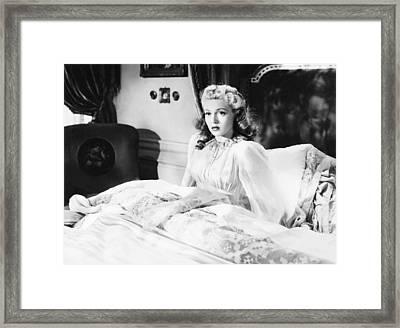 Dr. Jekyll And Mr. Hyde, Lana Turner Framed Print
