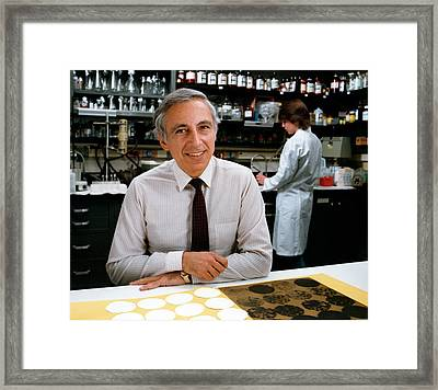 Dr. Robert Gallo Framed Print