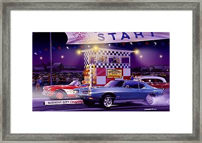 Drag City Framed Print by Bruce Kaiser