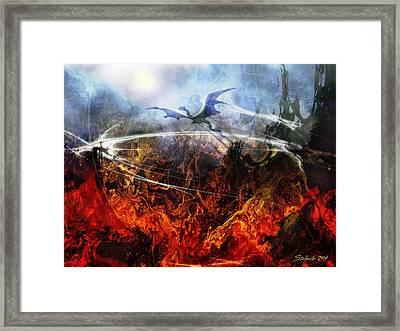 Dragon's Dawn Framed Print