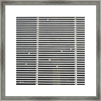 Drain Framed Print by The Art of Marsha Charlebois