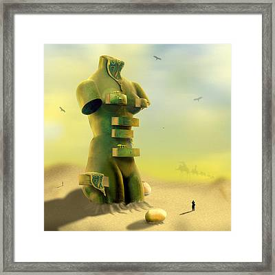 Drawers Framed Print by Mike McGlothlen