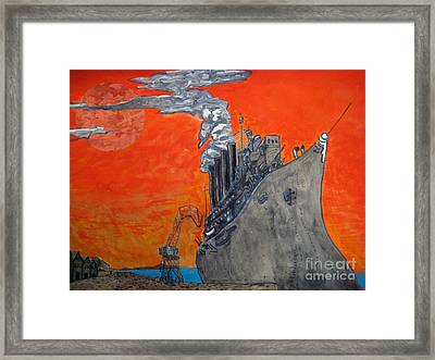 Dreadnought Framed Print by Raul Morales