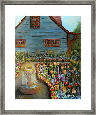 Dream Garden Framed Print