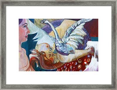 Dream Framed Print by Otilia Gruneantu Scriuba