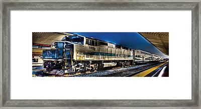 Dream Station Framed Print by Andrew Raby