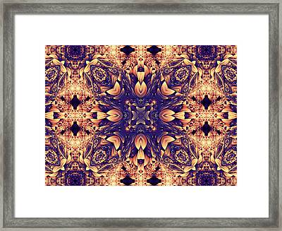 Dreaming In Abstract Framed Print by Georgiana Romanovna