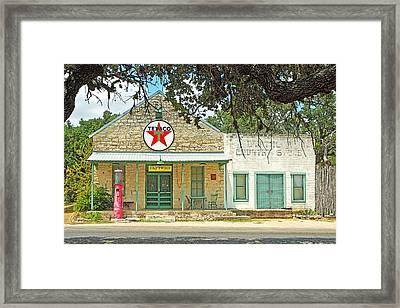 Driftwood Store Framed Print