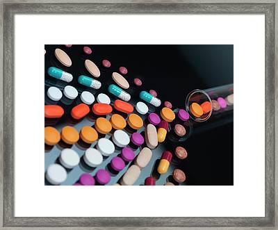 Drug Development Framed Print