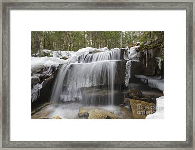 Brook - White Mountains New Hampshire Framed Print