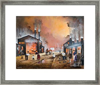 Dudleys By Gone Days Framed Print