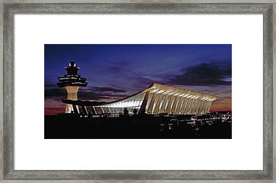 Dulles International Framed Print