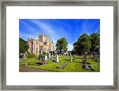 Framed Print featuring the photograph Dunfermline Abbey Scotland by Craig B