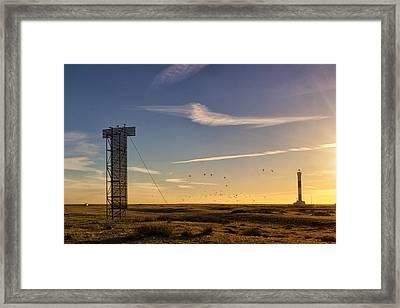 Dungeness Beach.  Framed Print