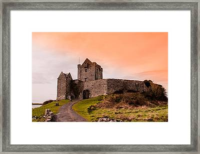 Dunguaire Castle Framed Print by AMB Fine Art Photography