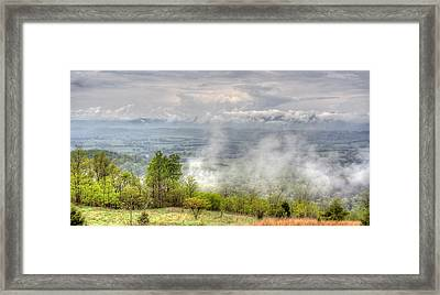Dunlap Valley Framed Print by David Troxel