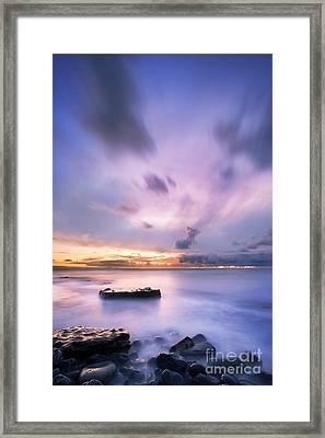 Dunraven Bay Framed Print by Rod McLean