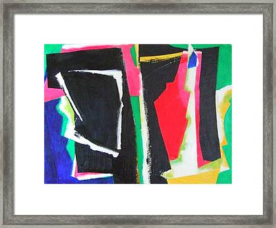Duo Framed Print by Diane Fine