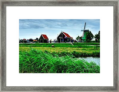 Framed Print featuring the photograph Dutch Village by Joe  Ng