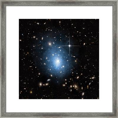 Dwarf Galaxy Framed Print by Nasa/cxc/univ. Of Alabama