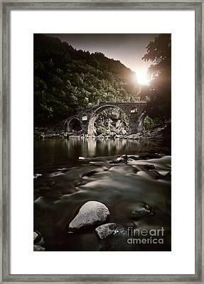 Dyavolski Most Arch Bridge Framed Print by Evgeny Kuklev