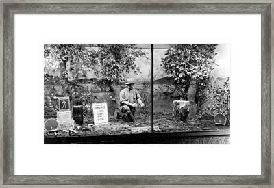 Dynamite Window Display Framed Print