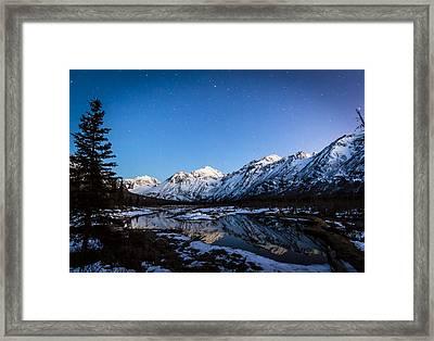 Eagle River Nature Center Framed Print