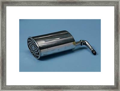Ear Trumpet Framed Print